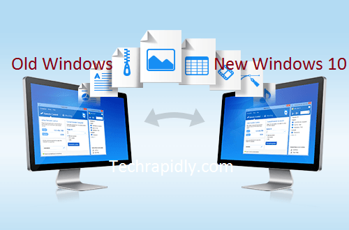 How to transfer files from old pc to new pc archives for New windows software