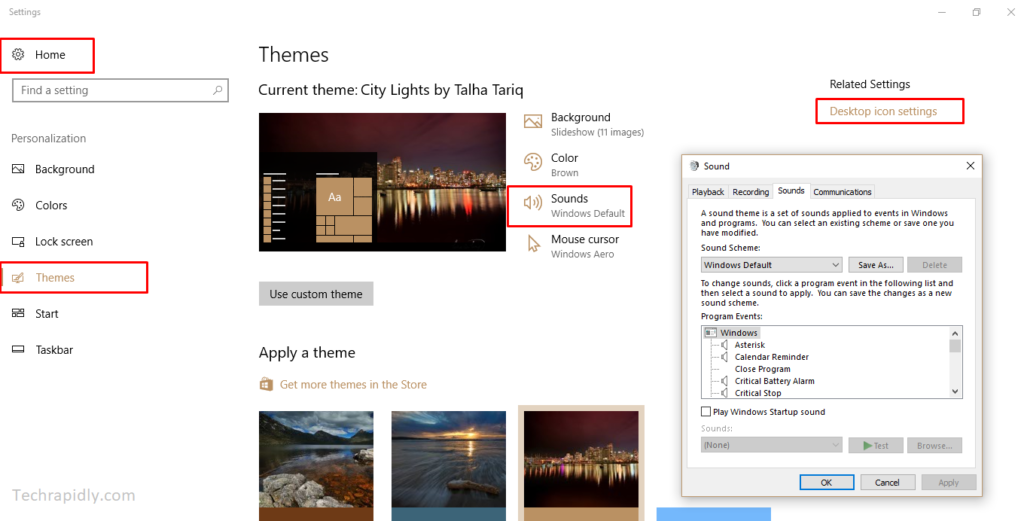 How to Install and Download Themes in Windows 10