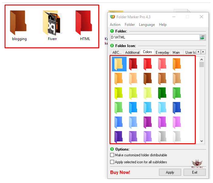 How to Customize or Change Files and Folder Colors in Windows 10