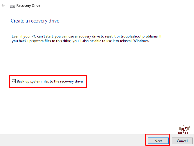 How to Use and Create Windows 10 Recovery USB Disk