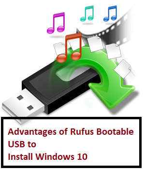 rufus to install windows 10