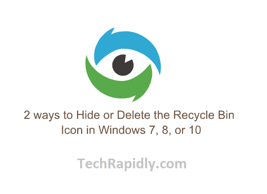 Hide or Delete the Recycle Bin Icon