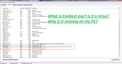What is conhost exe Is it a Virus and why is it Running on my PC