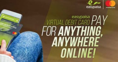 Buy domain From Easypaisa Virtual Debit Card