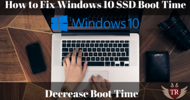 How to Fix Windows 10 SSD Boot Time(Decrease, SSD boot up faster)