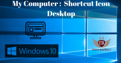 "make ""My Computer"" Shortcut icon on Windows 10 Desktop"