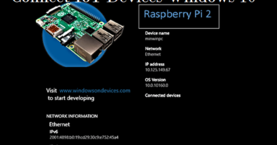 connect iot devices raspberry pi windows 10