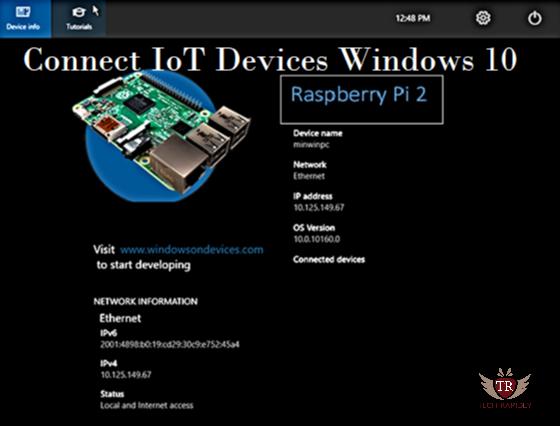 How to Connect IoT devices(raspberry pi) Windows 10 [Solved]