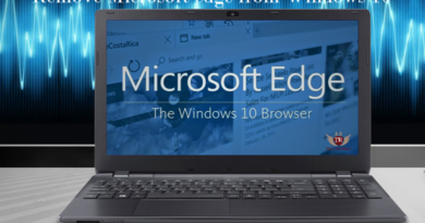 How to Disable or Remove Microsoft edge from Windows 10(Uninstall Edge Browser)