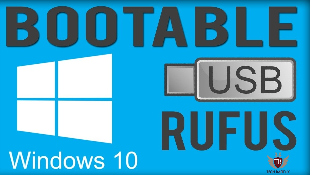 How to use Rufus to install Windows 10 Bootable USB (Rufus exe download Windows 10)