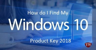 How do I Find My Windows 10 Product Key 2018