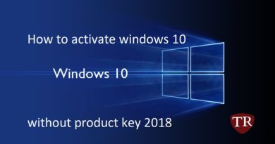 how to  windows 10 without a product key