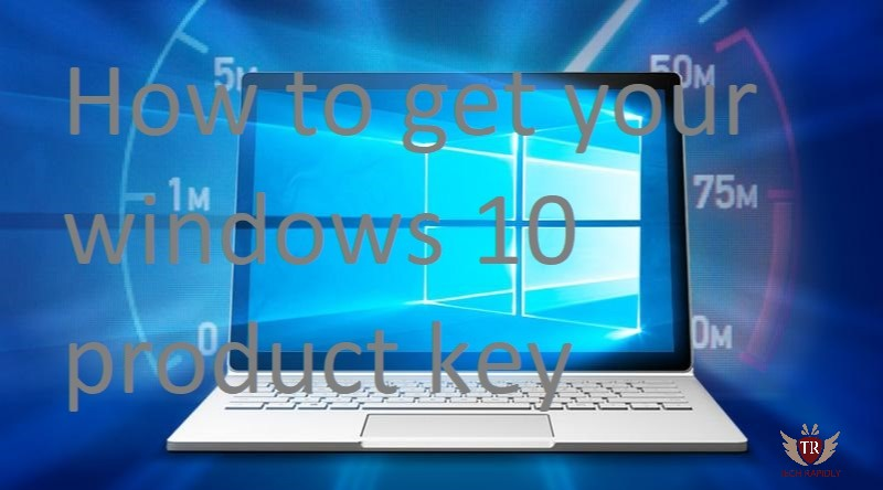 windows how to get product key