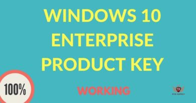 windows 8 enterprise product key 2017