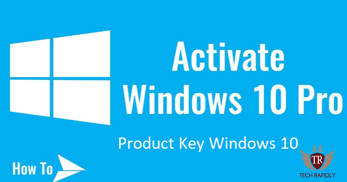 product key windows 10 pro 64 bit 2018
