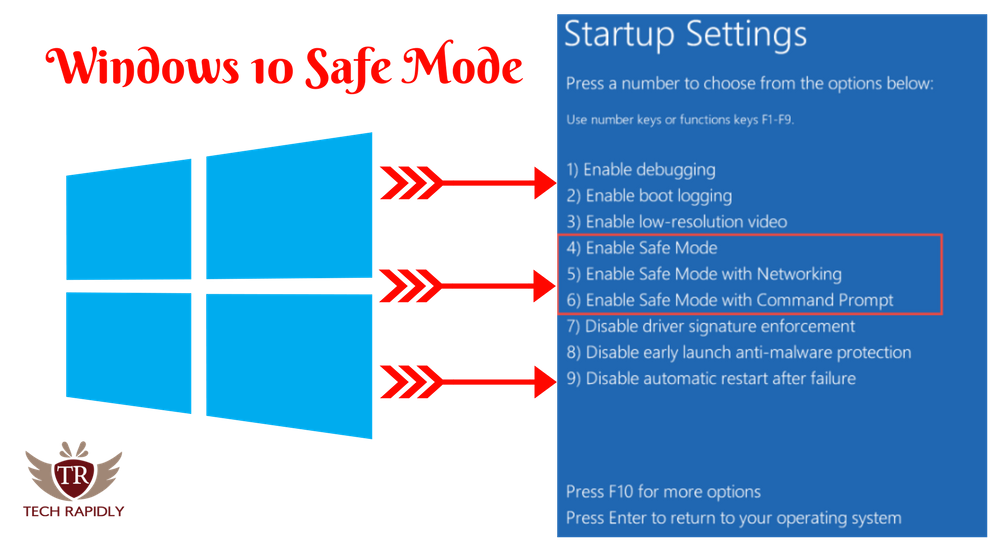 How to Get Into Windows 10 Safe Mode