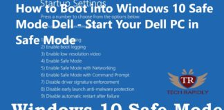 How to Boot into Windows 10 Safe Mode Dell - Start Your Dell PC in Safe Mode