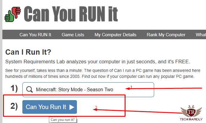 Can I run It Can you Run It Can My PC Run It Will it Run